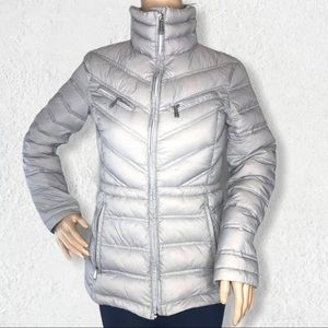 Michael Kors Down Packable Zip Jacket Puffer Sz XS